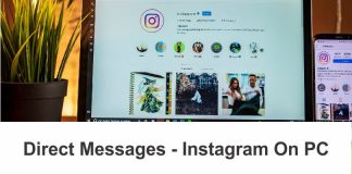 Check Direct Messages on Instagram on Computer