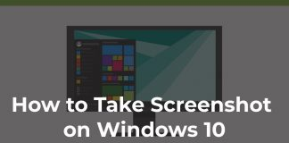 how to screenshot on windows